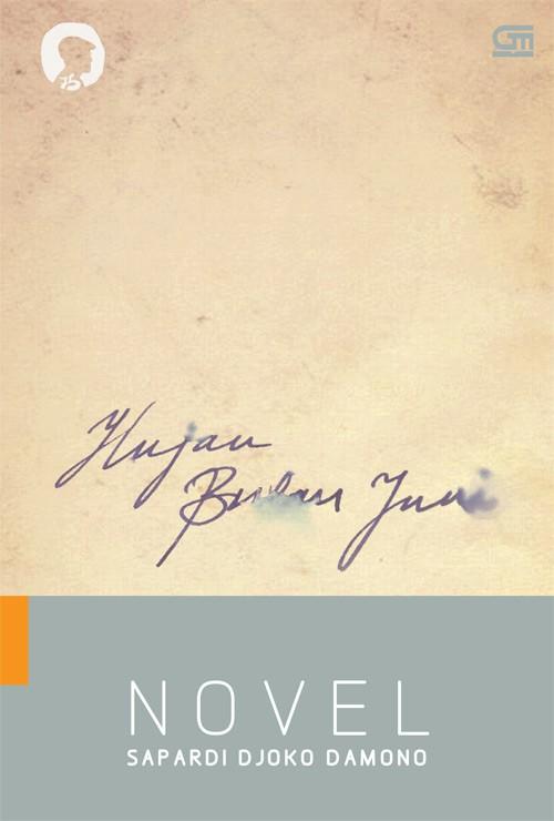 Cover Novel Hujan Bulan Juni