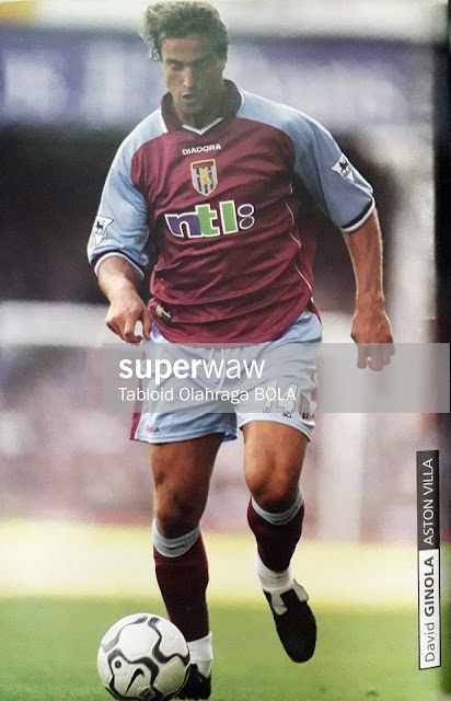 PIN UP DAVID GINOLA (ASTON VILLA)