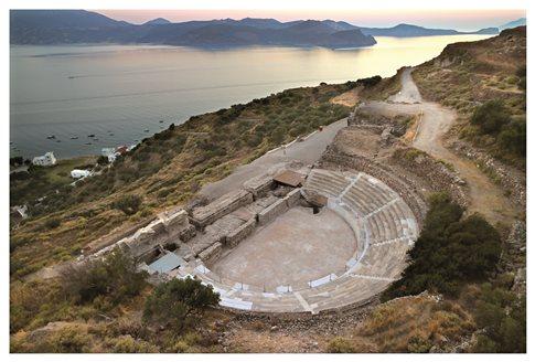 Έτοιμο να υποδεχθεί το κοινό το Αρχαίο Θέατρο Μήλου