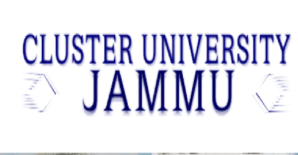 Cluster University of Jammu Admission Procedure 2019.