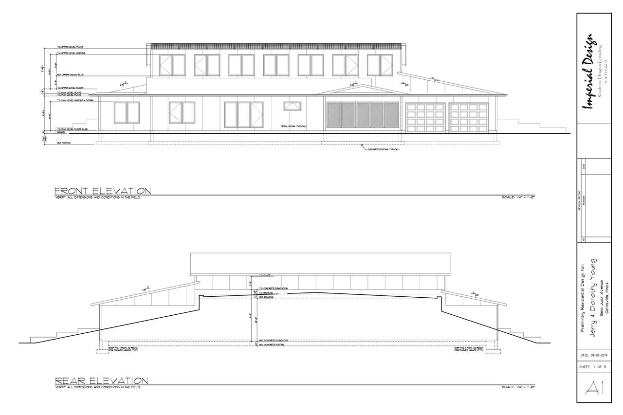 Do it yourself green building with jerry young design final is useful for visualizing the screened porch and garage relative to the house and the abundance of south facing windows for passive solar gain this drawing solutioingenieria Image collections