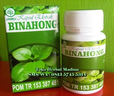 Jual Kapsul Ekstrak Binahong CV. Jogja Natural Herbal Isi 60 Kapsul di Madiun