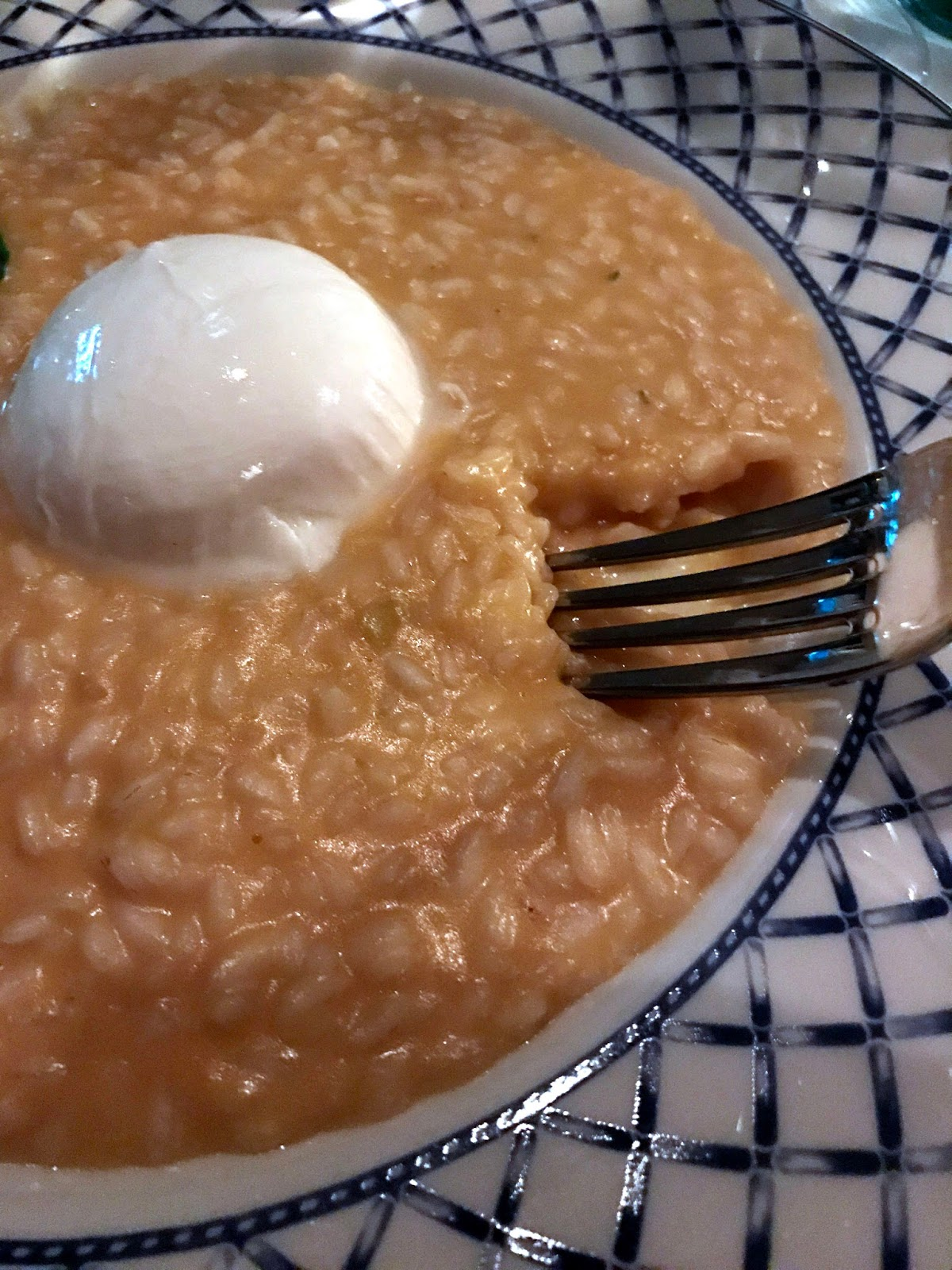 Stitch & Bear - Rosa Madre - Risotto with butternut squash and burrata