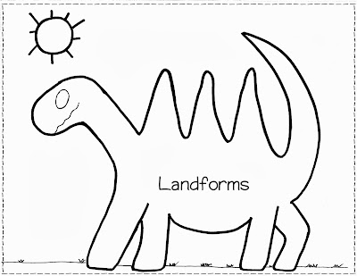 Tic Tac Science: Year 6. Revision. Landforms! Find and label.