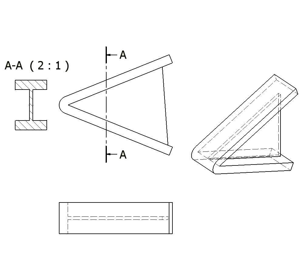 secciones  cortes y roturas  secciones  definici u00f3n y tipos