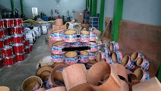 Pengrajin Alat Drumband di Bantul Jogja