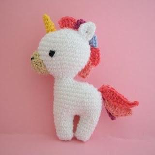 CROCHET PATTERN in English and Spanish - Mimi the Friendly Unicorn ...   320x320