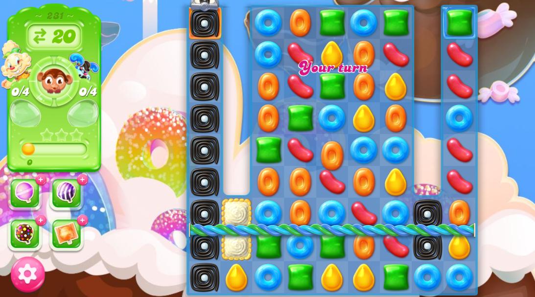 Candy Crush Jelly Saga 231