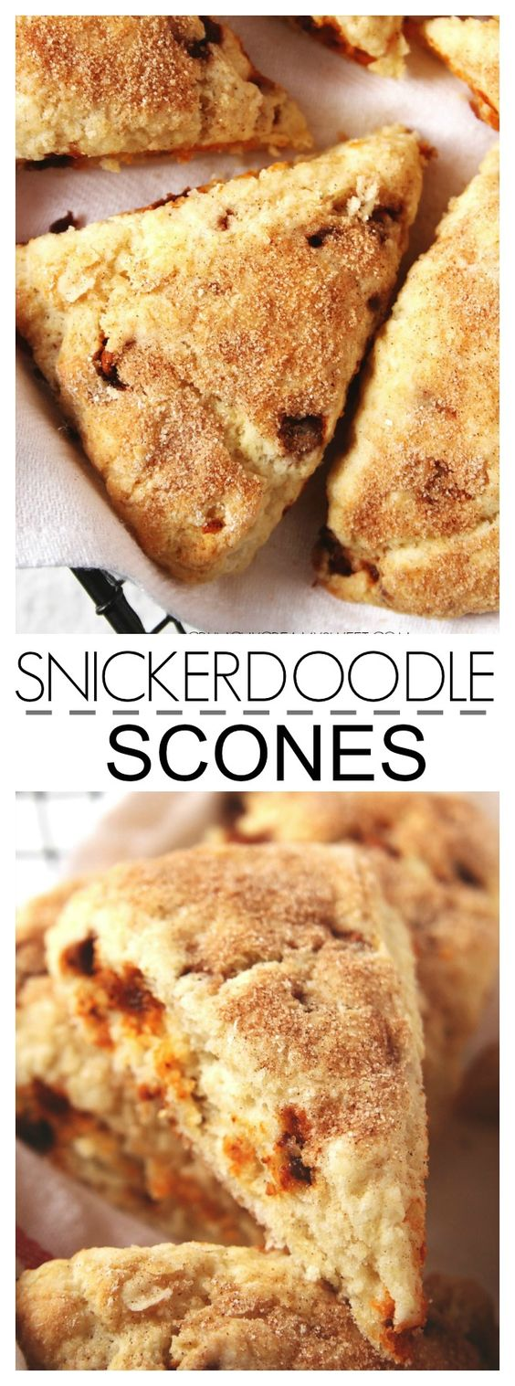 Snickerdoodle Scones Recipe Card