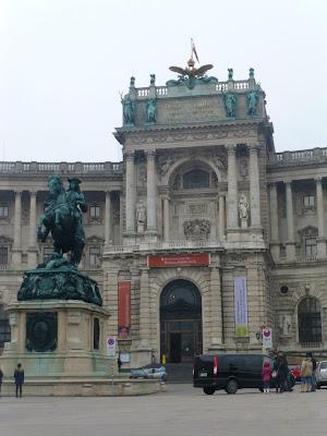 Palais de Hofburg Vienne
