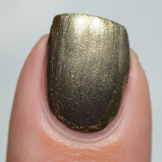 pewter metallic nail polish