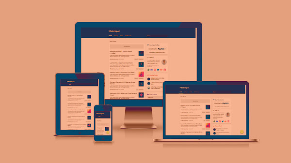 Materispot V2.1 Material Design Blogger Template
