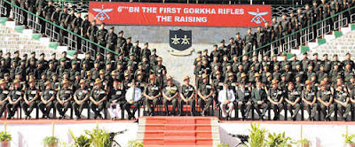 6th Battalion of the First Gorkha Rifles