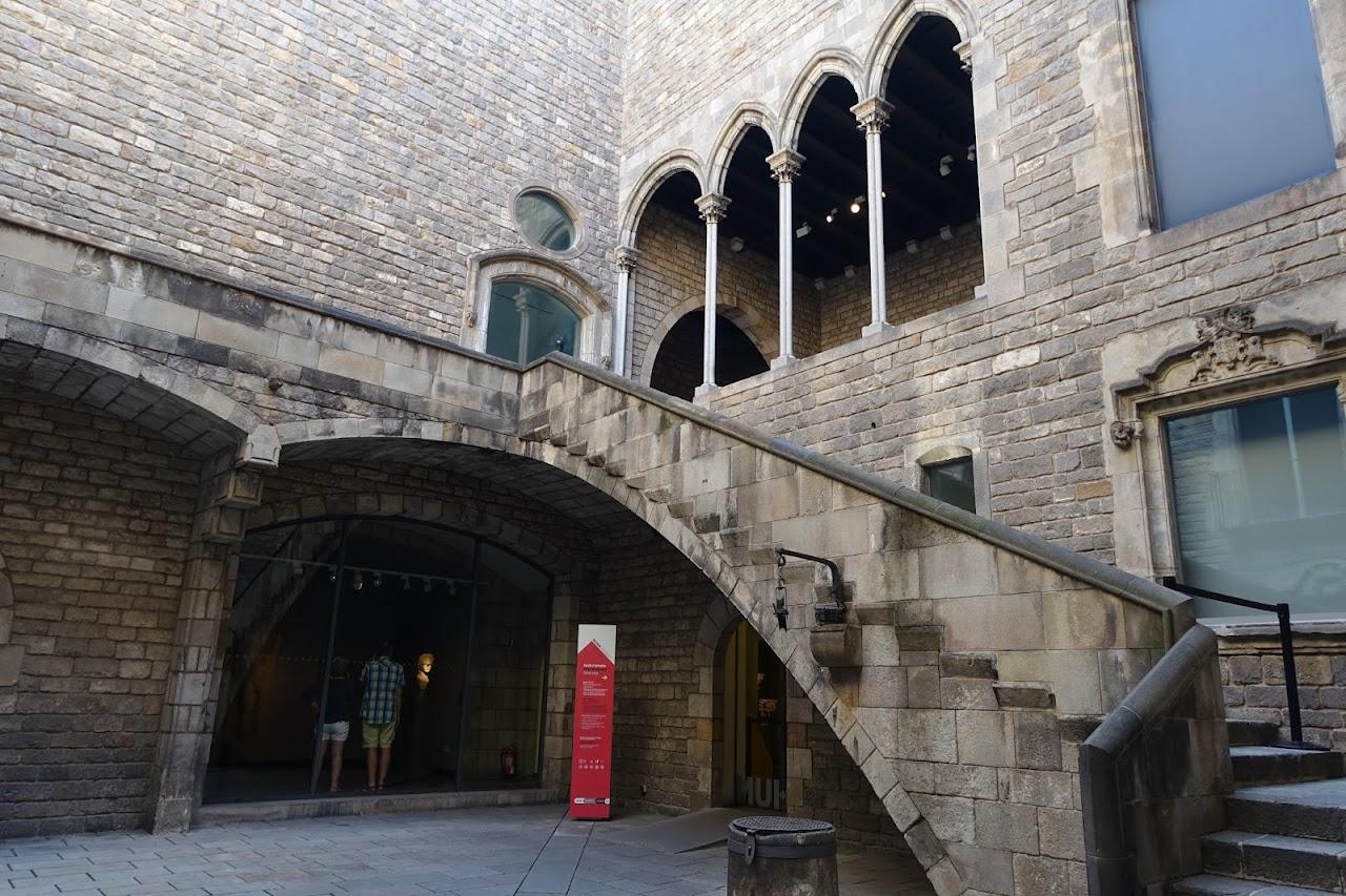 バルセロナ市歴史博物館(Museu d'Història de la Ciutat)=Casa Padellàs