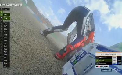 Lorenzo Susul Rossi Jatuh, Marquez Juara Dunia di GP Jepang