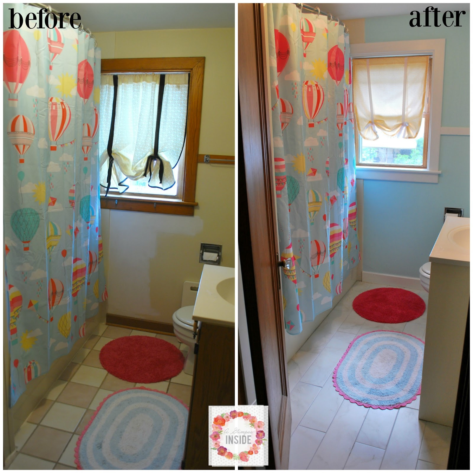 http://www.aglimpseinsideblog.com/2016/07/girls-bathroom-makeover.html