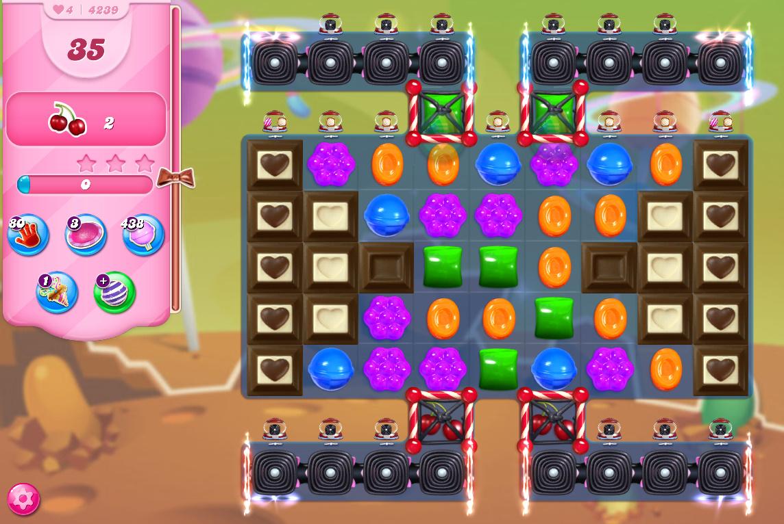 Candy Crush Saga level 4239