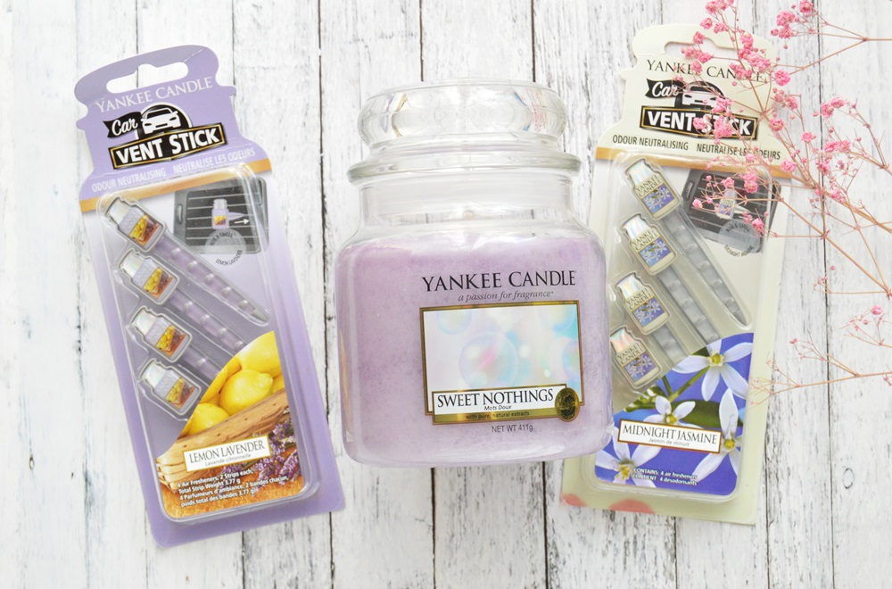 yankee candle sweet nothing, vent stick