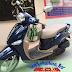 Sơn xe Yamaha Nozza màu xanh zin