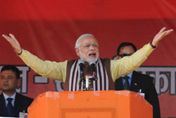 Fight against corruption and black money is actually for the future of youth: Modi