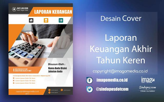 Download Template Desain Cover Keren Laporan Keuangan