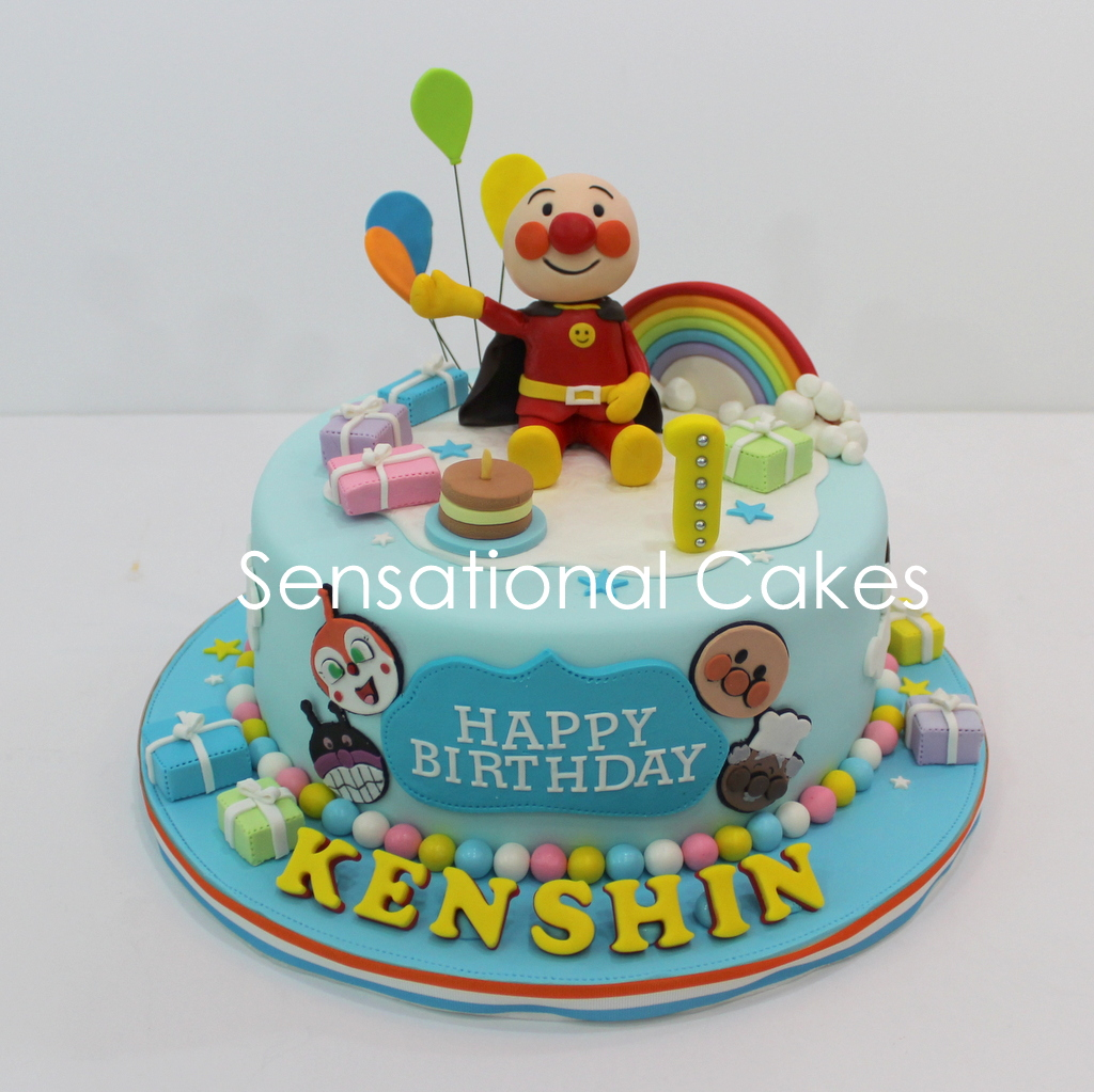 Larva Cartoon Cake Design : The Sensational Cakes: anpanman cake singapore / ?????? ...