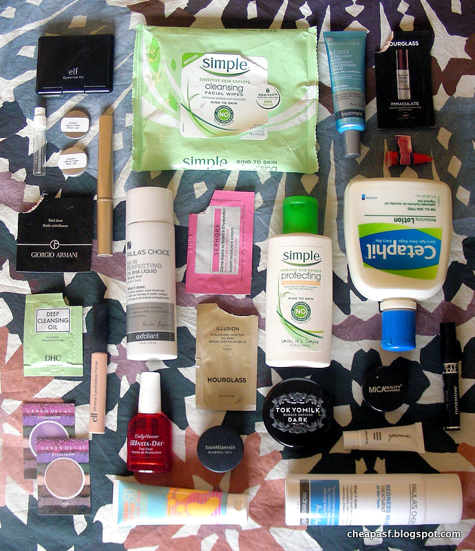 Mid-Winter Empties