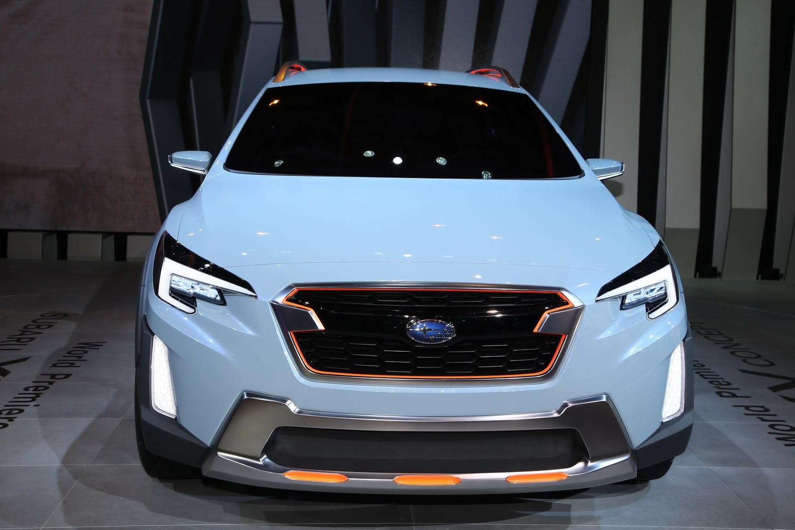 Subaru Xv Concept Previews Next Crosstrek Carscoops