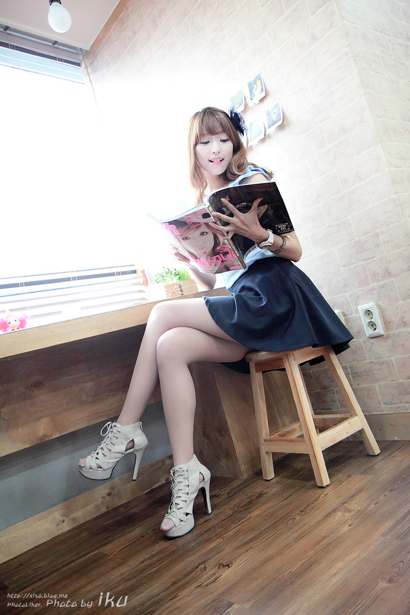 Lee Eun Hye In Blue  Asia Photo Gallery And Images-1753