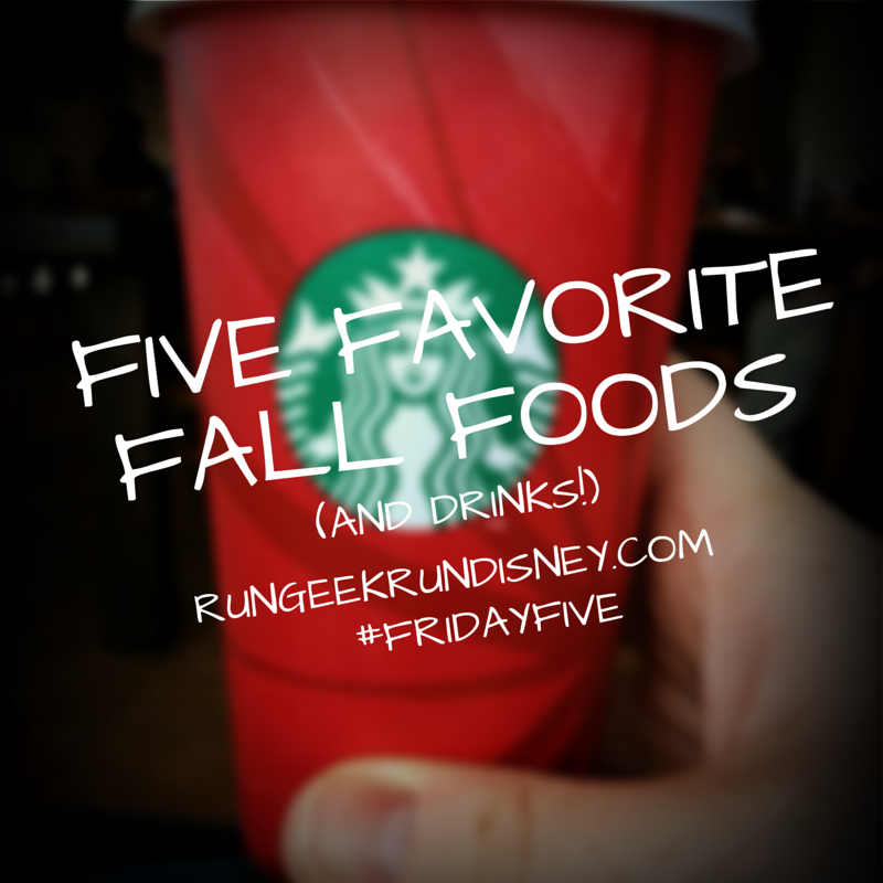 Five Favorite Fall Foods (and Drinks)