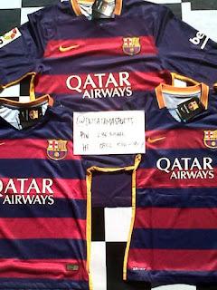 Jual Jersey Bola Barcelona Baru di Batam
