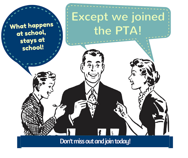 PTA will keep you on top of what's going on in the school