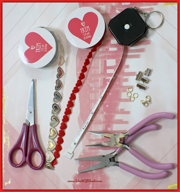 DIY Heart Choker Necklace   Valentine's Day Special