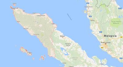 Peta Wilayah Provinsi Nanggroe Aceh Darussalam