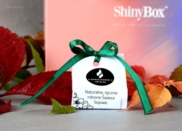 ExtraBox Beauty&Shape by ShinyBox - Natura Rzeczy Tealight o zapachu Zielonej Herbaty