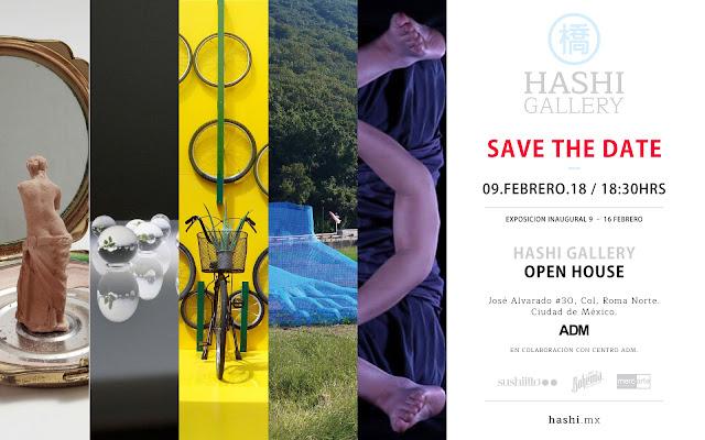 inauguración de la Hashi Gallery