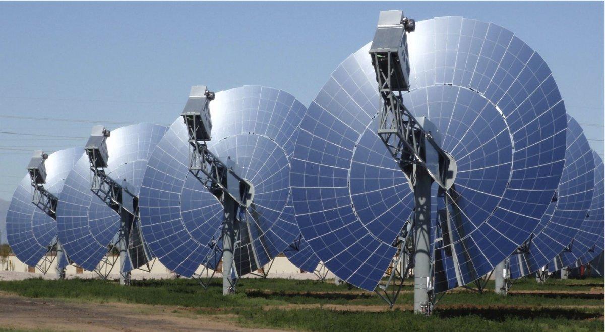 محركات الطاقة الشمسية الحرارية