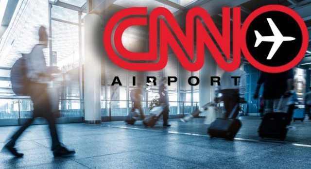 Growing questions about CNN's airport monopoly as network veers left.