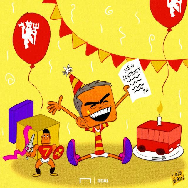 Mourinho cartoon