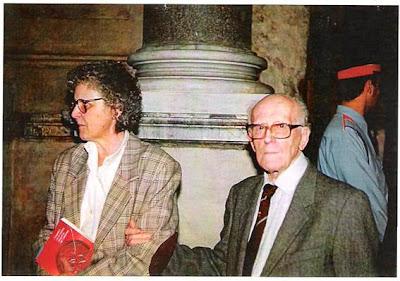 Antonio F. Argüelles y su hija Nuria