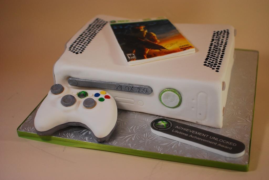 XBOX 360 Grooms Cake