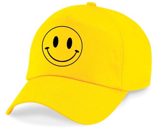 Yellow Smiley Cap