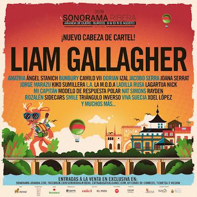 Liam Gallagher Sonorama Ribera