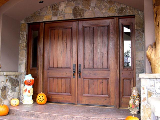 cửa gỗ sồi- mẫu 5