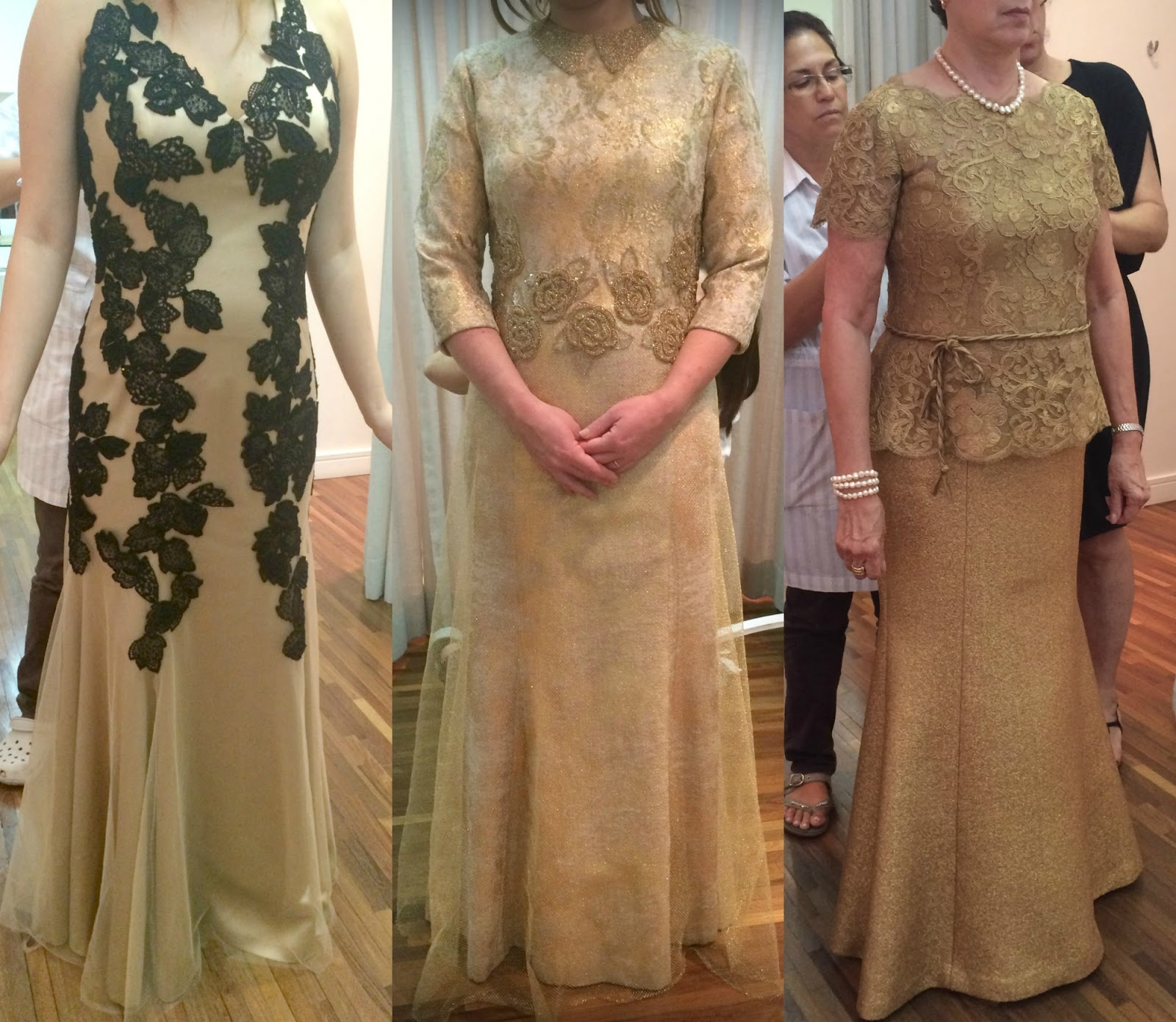 Vestidos festa bodas de ouro