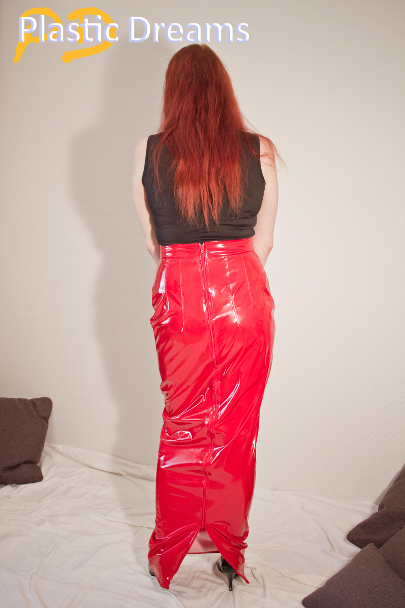 Plasticdreams Pvc Hobble Skirt