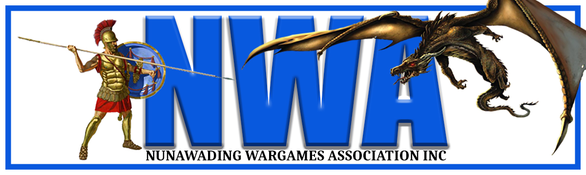 Nunawading Wargames Association Club Blog