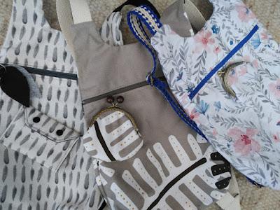 mochila, backpack, cartable, monedero, porte-monnaie, purse, costura, couture, sewing