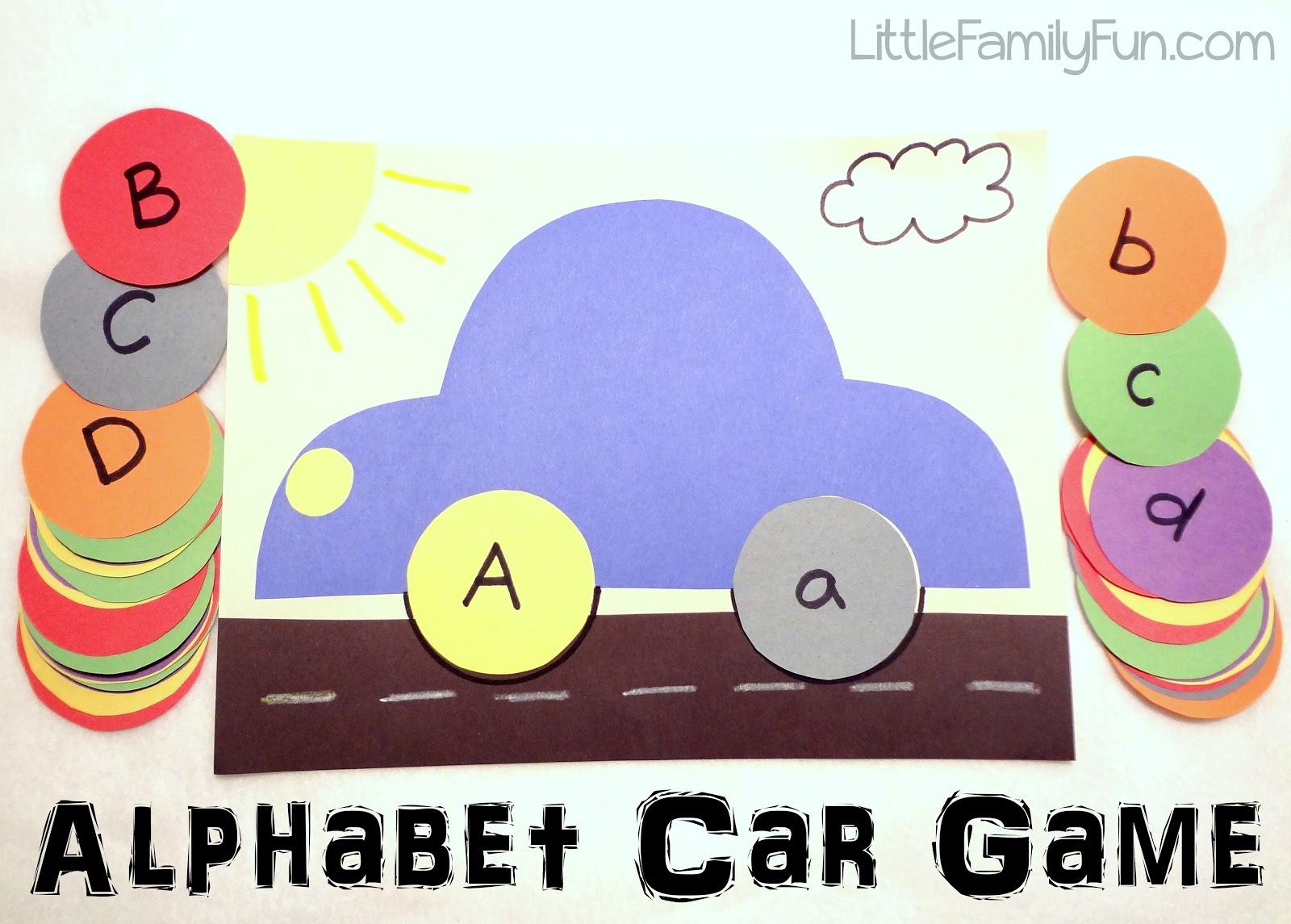 Little Family Fun Alphabet Car Game