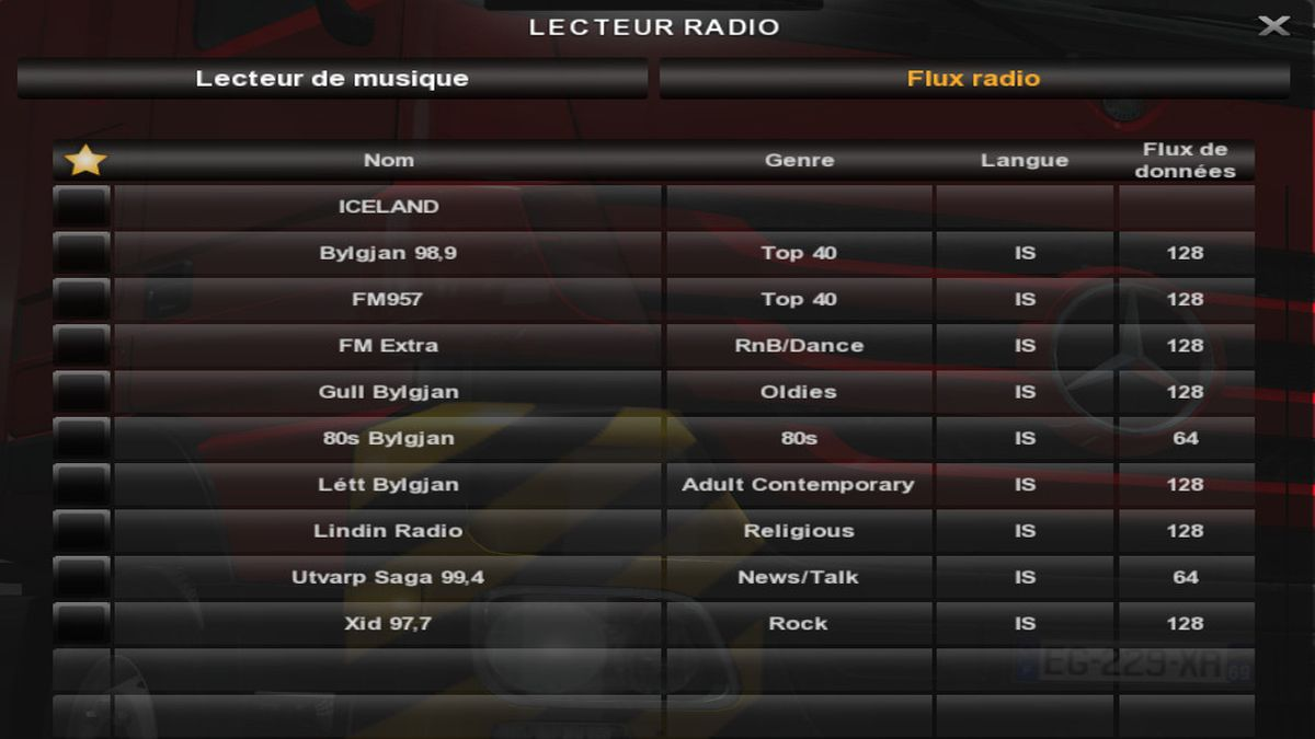 Icelandic Radio Stations